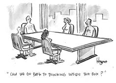 Thinking Outside the Box | Business Development in ICT