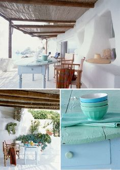 White summer house in Ponza, Italy