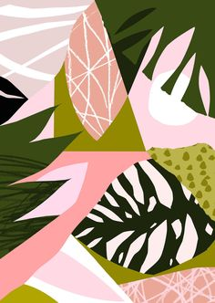 'Equatorial Dusk' www.tomabbisssmithart.com/store #abstract #contemporary #textile #print #surface #pattern #design