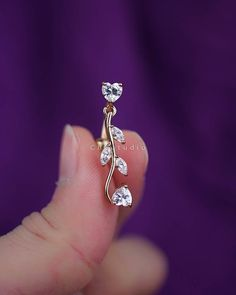 belly ring belly button ring belly piercing belly by CBOstudio