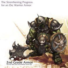 Orc warrior - 2nd Grade by reaper78.deviantart.com on @DeviantArt