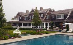 Hamptons backyard.
