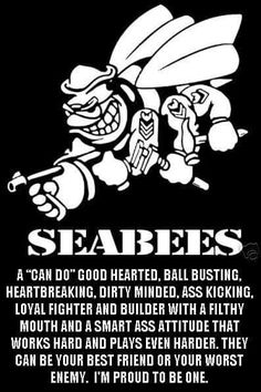 YES!!! The best definition of a Seabee.