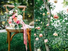 stunning summer wedding bouquets, coral pink ivory wedding flowers, garden rose ranunculus wedding, flowing silk ribbon bouquet, hanging flowers, hanging flower backdrop, suspended roses, hanging roses, wedding backdrop ideas, wedding flowers utah calie rose