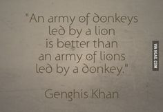 Genghis Khan everyone