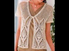 crochet shrug| how to crochet vest shrug free pattern tutorial for beginners 22 - YouTube