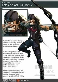 Avengers Usopp