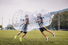 The perfect Party idea for any kid or adult. Bubble Ball!