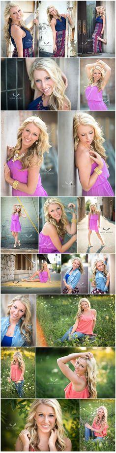 Cute senior girl photos | outdoor senior photos | senior girl pose ideas | senior photography