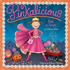 Buy Pinkalicious: Pink or Treat! by Victoria Kann at Mighty Ape NZ. Kids will have a pinkatastic Halloween with Victoria Kann's Pinkalicious: Pink or Treat!, an illustrated storybook. Pinkalicious can't believe it. Halloween Books For Kids, Halloween Jack, Halloween Trick Or Treat, Halloween Party, Halloween Costumes, Halloween Toys, Halloween Carnival, Halloween Ideas, Baby In Pumpkin