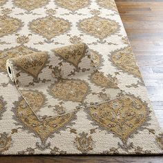 Allegro Hand Hooked Rug, available at ballarddesigns.com