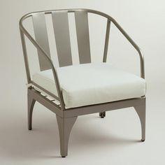 Gunmetal Palm Cove Occasional Chair