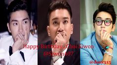 20170407 Happy Birthday...Choi Siwon @Siwon407