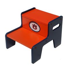 Auburn Tigers Two-Tier Step Stool, Multicolor