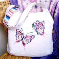 Handmade-Astarte / ♫Zamilované Motýle ♥ Shot In The Dark, Mobiles, Butterflies, Reusable Tote Bags, Cute, Handmade, Beautiful, Hand Made, Mobile Phones