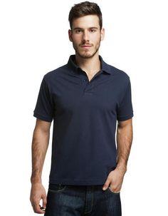 nossa camisa polo em azul marinho // #soubasico