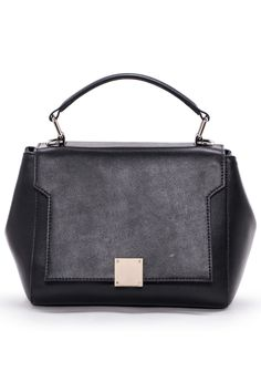 CANNCI - Cambridge Top Handle Bag in Black
