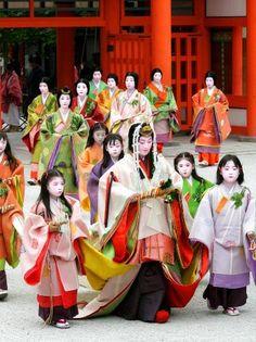 葵祭(The Aoi Festival )