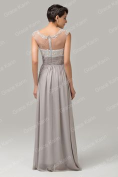Wedding Applique Long Evening Gown Formal Cocktail Bridesmaid Prom Party Dresses