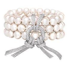 'Perles et Noeud' bracelet © Chanel