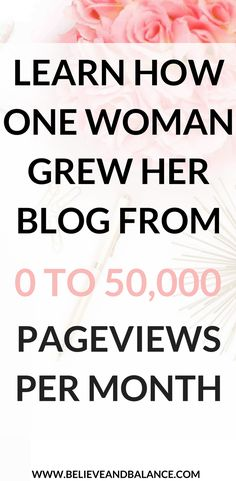Learn proven strategies one woman used to grow her brand new site to 50,000 pageviews in its second month!!! #blog #blogging #lifestyle #fashionblogging #beautyblogging #strategy #afflink #growyourblog