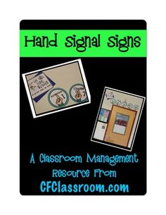 View a video of this product on my Teacher TV Channel:HAND SIGNALS IN THE CLASSROOMThis kit includes:-an overview of the system-5 printab...