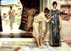 LA GIORNATA DI UN ROMANO   Al mattino presto, in genere all'alba, si animava la casa dei Romani, gli schiavi iniziavano a pulire i pavim...