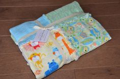 Bright & Colorful Boy Crib / Toddler Rag by KylaMayCollections