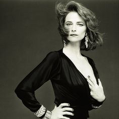 Charlotte Rampling is one of the most beautiful women ever . . .