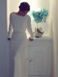 Fully covered but stunning Vestidos Vintage, Bohemian Wedding Dresses, Wedding Gowns, Modest Wedding, Long Sleeve Wedding, Yes To The Dress, Beautiful Gowns, Dream Dress, Bridal Dresses