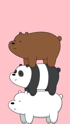 We Bare Bears Wallpaper Iphone Group HD Wallpapers Cute Panda Wallpaper, Cartoon Wallpaper Iphone, Bear Wallpaper, Cute Disney Wallpaper, Kawaii Wallpaper, Cute Wallpaper Backgrounds, Wallpaper Space, We Bare Bears Wallpapers, Panda Wallpapers