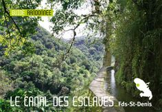 "randonnée ' canal des esclaves/canal Beauregard """
