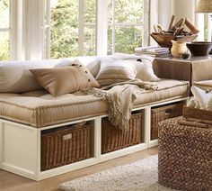 Wicker tables.. for the family room