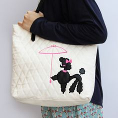 Pixie Poodle Tote Bag