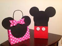 Cartera Minnie y Mochila Mickey :: Miine Purse and Mickey Backpack Wow Eventos Boutique