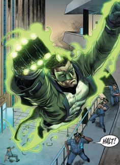 Renegade Green Lantern