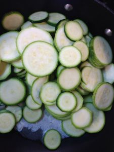 Veggies in Butter - Zucchini au Gratin