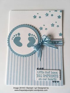 Stampinup Baby blue – Petalpumpkin Buying Gently Used Baby Clothing Article Body: Remember that ador Baby Boy Cards Handmade, Baby Girl Cards, New Baby Cards, Congratulations Baby, Baby Album, Kids Cards, Scrapbook Cards, Homemade Cards, Stampin Up Cards
