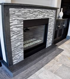 1000 Images About Granite Fireplaces On Pinterest Black