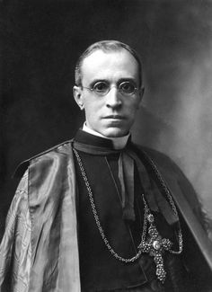 Eugenio Maria Giuseppe Giovanni Pacelli, Pope Pius XII Rome (Kingdom of Italy) March 2 1876 Castel Gondolfo (Italy) October 9 1958 Pope from 2 March 1939 to his death in 1958, Before his election, served as secretary of the Department of Extraordinary Ecclesiastical Affairs, in which capacity he worked to conclude treaties with European and Latin American nations, most notably the Reichskonkordat with Nazi Germany.