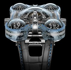 """By Keith Bombrys    Looking for that very special, over the top, limited edition, top-notch piece for your collection? The MB&F Horological Machine No. 6 """"Alien Nation"""" is the perfect piece to any timekeeper's collection and will"""