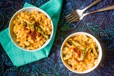 Chipotle Mac-This whole blog has AMAZING recipes for completely vegan meals :D.