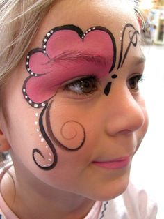 Trendy painting kids butterflyYou can find Face painting designs and more on our Trendy painting kids butterfly Face Painting Tutorials, Face Painting Designs, Paint Designs, Butterfly Face Paint, Butterfly Makeup, Butterfly Kids, Butterfly Painting, Girl Face Painting, Belly Painting