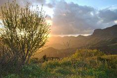 Atardecer en Tejeda, Gran Canaria Islas Canarias Foto:Don Boro