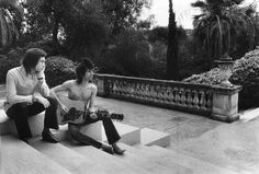 Charlie Watts and Keith Richards France