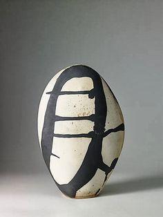 Monika Debus; Glazed Ceramic Vessel, 2013.