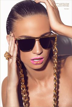 skin color... Gold Digger - A Gold Beauty Editorial From Volt Cafe 2