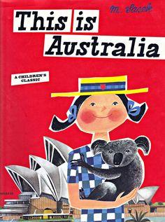 cover by miroslav sasek, this is australia