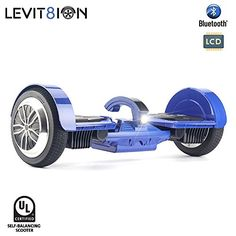 LEVIT8ION+Ultra+7.5″+Hoverboard+–+Self-Balancing+2+Wheel+Electric+Scooter+–+UL+Certified+with+Fireproof+Detachable+Samsung+Battery,+Bluetooth,+APP+And+LCD+Screen