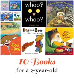 Everyday Reading: 10 Great Books for my soon-to-be TWO year old:)
